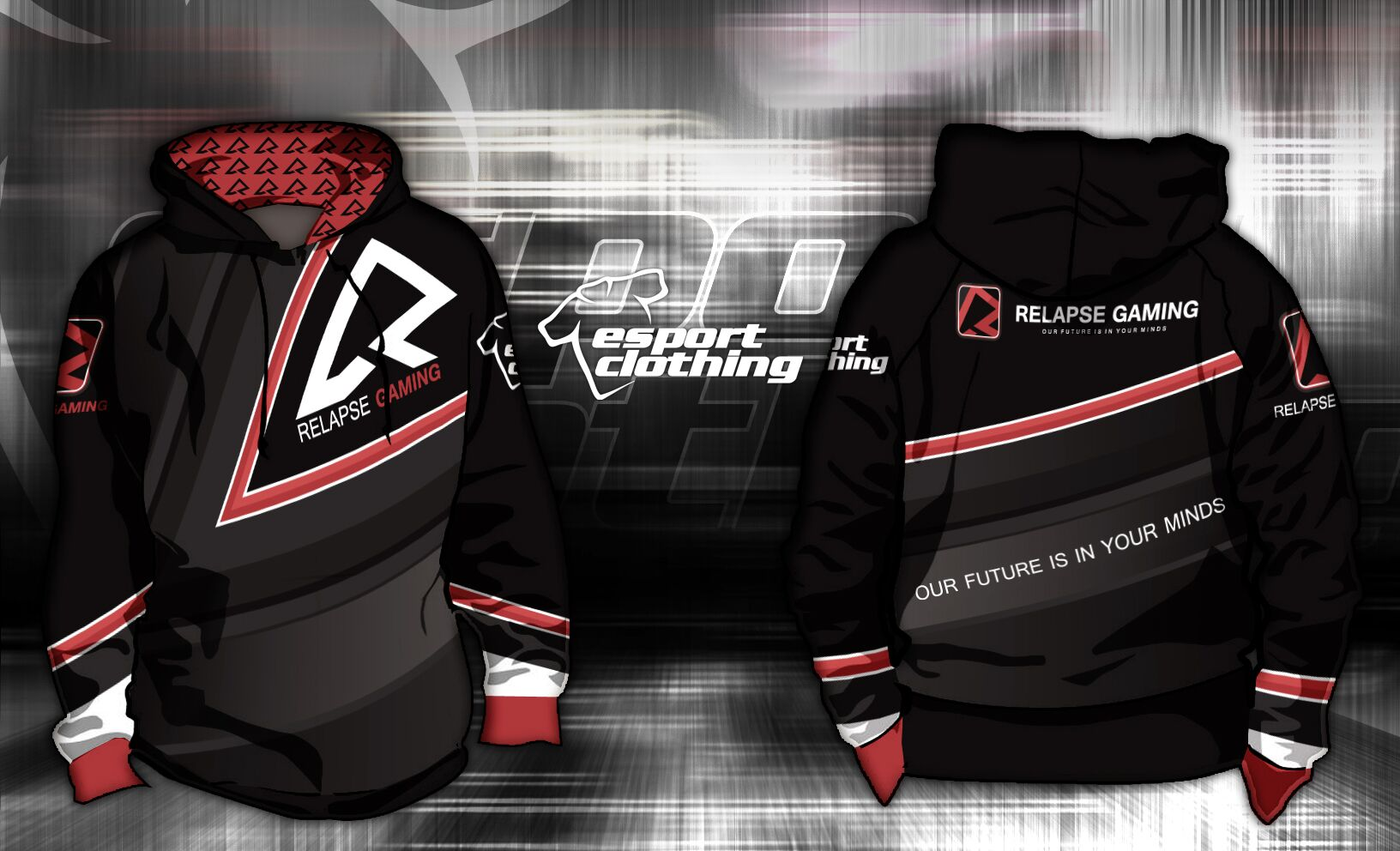Relapse Gaming - Athlete Hoodie Pullover