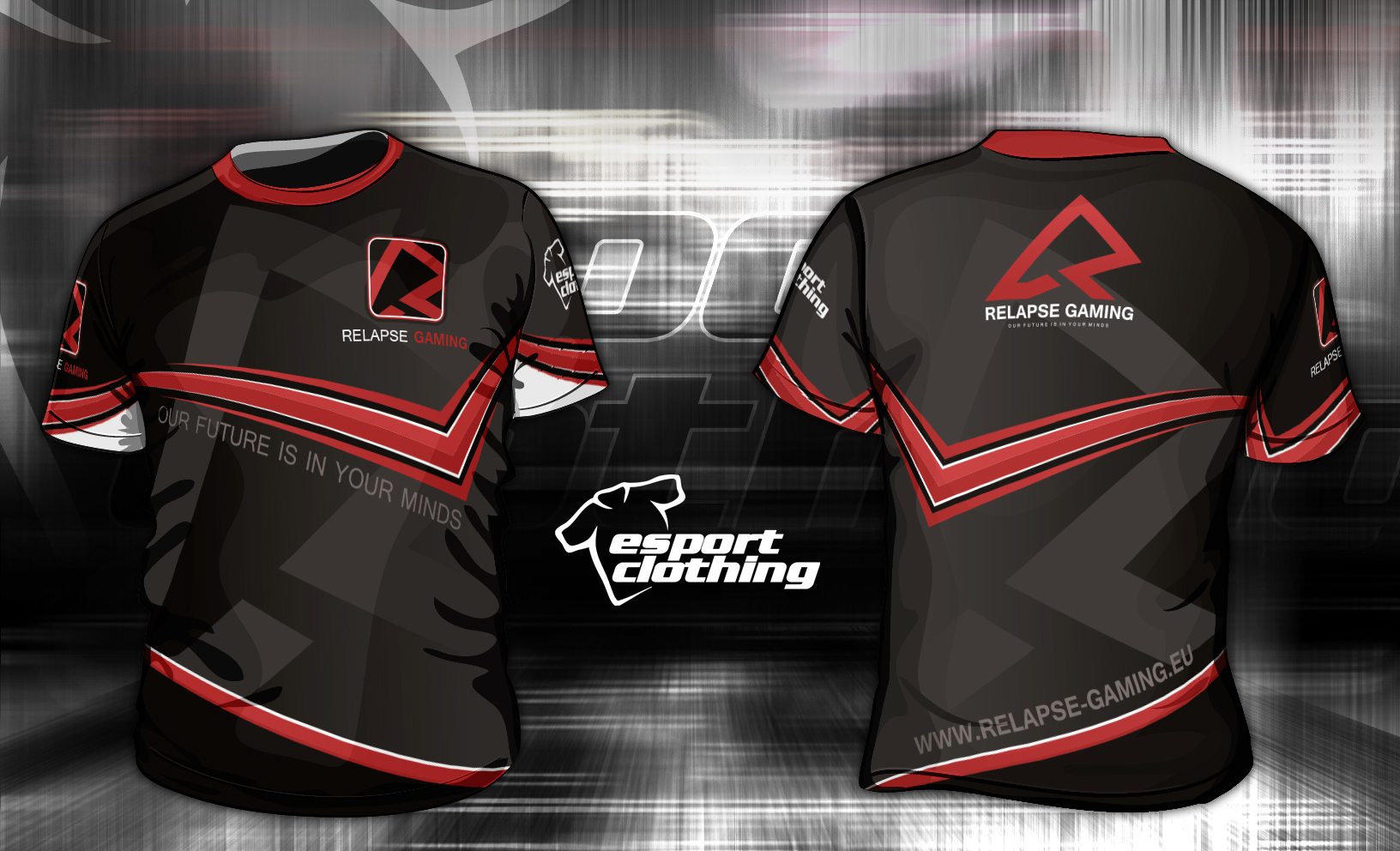 Relapse Gaming - Athlete Short Sleeve Jersey