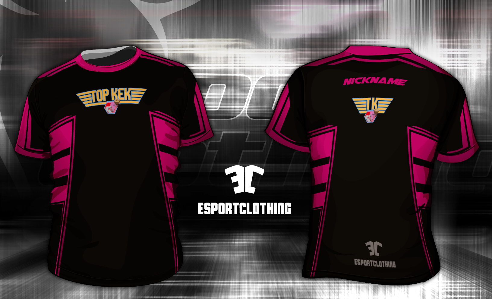Team Topkek - Athlete Short Sleeve Jersey