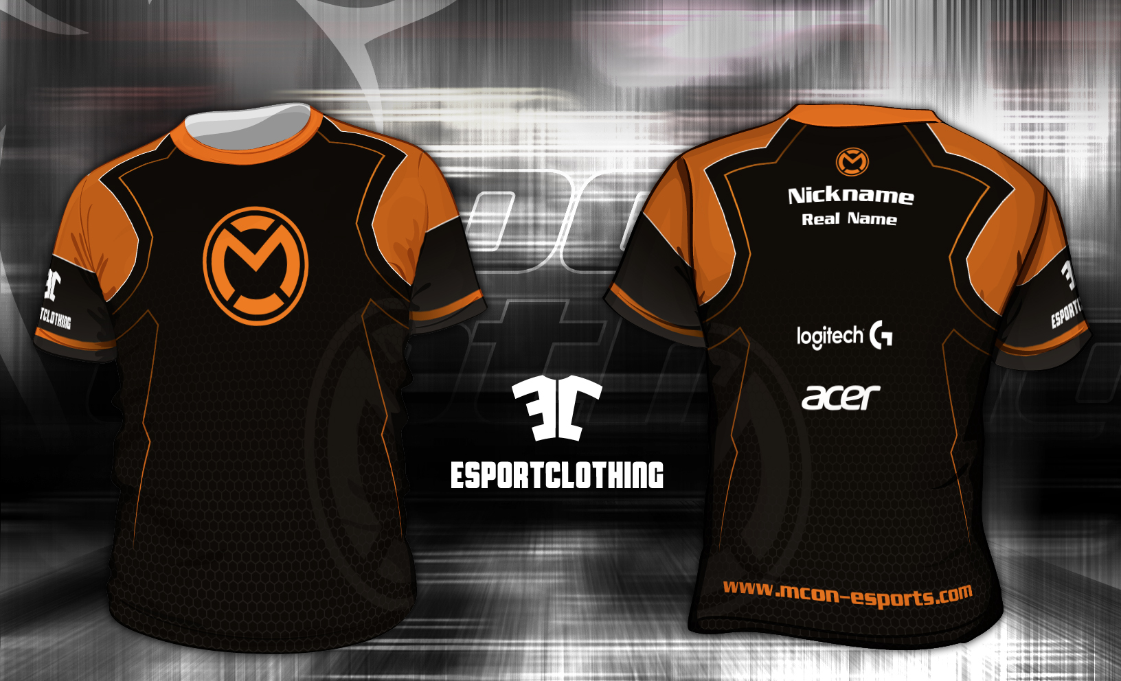 mCon Gaming - Athlete Short Sleeve Jersey